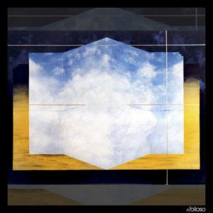 Malerei 105 x 79cm Acryl auf Hartfaser 1993