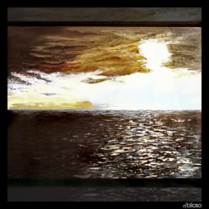 Malerei 120 x 91,5cm Acryl auf Leinwand 1990