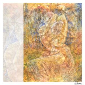 Grafik 21 x 30cm Buntstift/Aquarell auf Papier / 2002