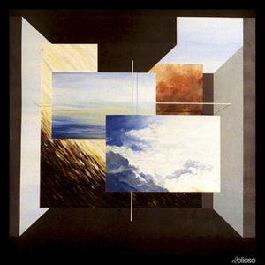 Malerei 131 x 144cm Acryl auf Leinwand 1990