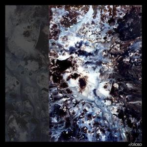 Eierläuferserie Bild 6 Malerei 100 x 150cm Acryl auf Hartfaser 1995