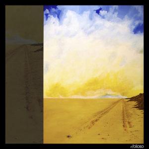 Malerei 150 x 200cm Acryl auf Hartfaser 2005